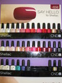 All 30 Shellac Colours