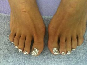 Swarovski Pedicure